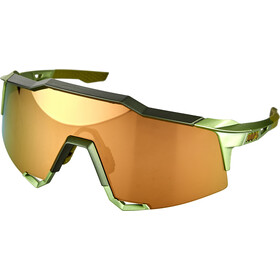 100% Speedcraft Brille Tall matte metallic viperidae/bronze mirror